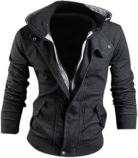 jeansian Men's Fashion Jacket Outerwear Tops Blazer 9015