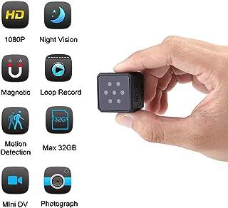 Mini Cámara Espia Oculta Rcharlance Oculta Cámaras 1080p HD para la Seguridad Doméstica Cámara Soporte Visión Nocturna y Detección de Movimiento