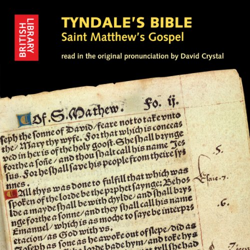Tyndale's Bible: Saint Matthew's Gospel cover art