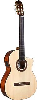 Cordoba C5-CE SP Classical Cutaway Acoustic-Electric Nylon String Guitar, Iberia Series