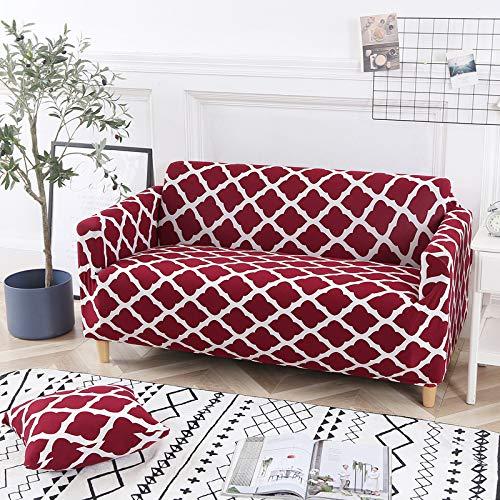 NOBCE Funda de sofá elástica de algodón, Funda elástica con Todo Incluido, Funda de sofá, Toalla, Funda de sofá para Sala de Estar 90-140CM