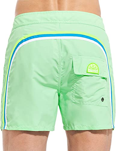 SUNDEK Pantalon de Plage Court en Nylon