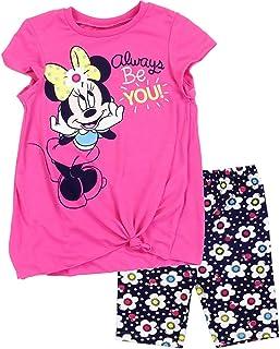 Minnie Mouse Disney Little Girls 'Bike Shorts Set