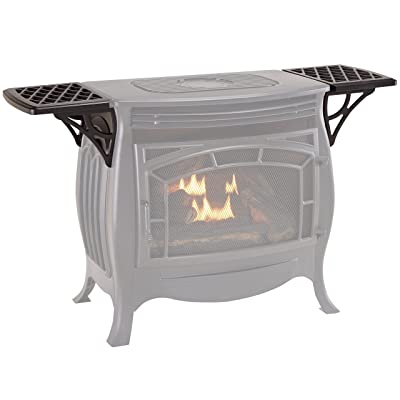Duluth Forge Set for Vent Free Gas FDSR25 Stove Shelf, Small