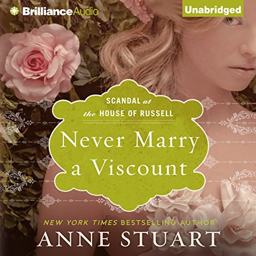 Never Marry a Viscount audiobook cover art