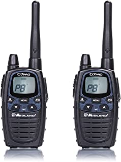 Radio portátil PMR/LPD Midland G7 Pro con 2 Piezas Código C1090.13