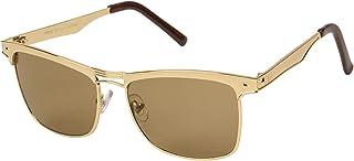 iCatch Gold UV Protection Glass Lens Full Rim Wayfarer Sunglasses - IS-4003