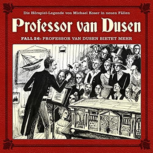 Professor van Dusen bietet mehr cover art