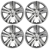 Custom Accessories 96411 GT-5 Silver 15' Wheel Cover, Set of 4