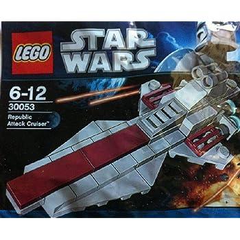 Bagged B0053DTMY4 LEGO Star Wars Republic Attack Cruiser 30053