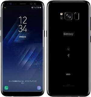 白ロム AU Galaxy S8 SCV36 Midnight Black