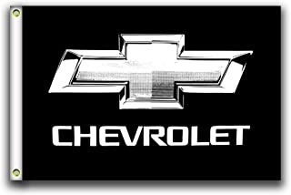 MCCOCO Chevrolet Flags Banner 3X5FT-90X150CM 100% Polyester,Canvas Head with Metal Grommet,Used both Indoors and Outdoors