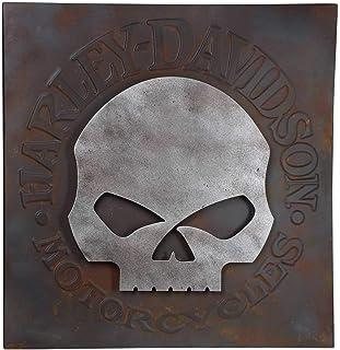 "SKULL Willie G Harley Davidson 8.5/"" x 11/"" Stencil 20 Mil Plastic Sheet NEW S421"