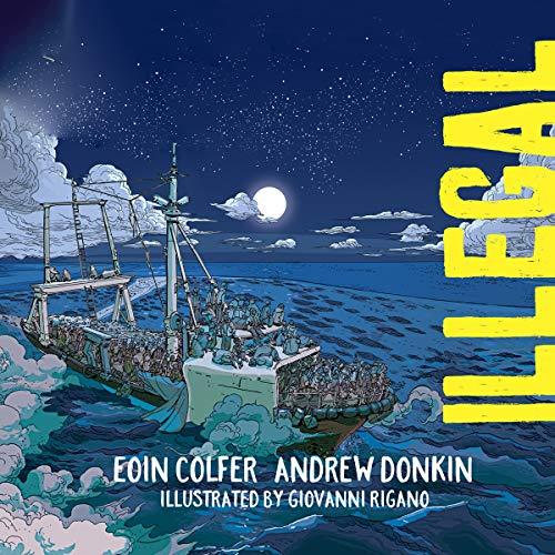Illegal audiobook cover art