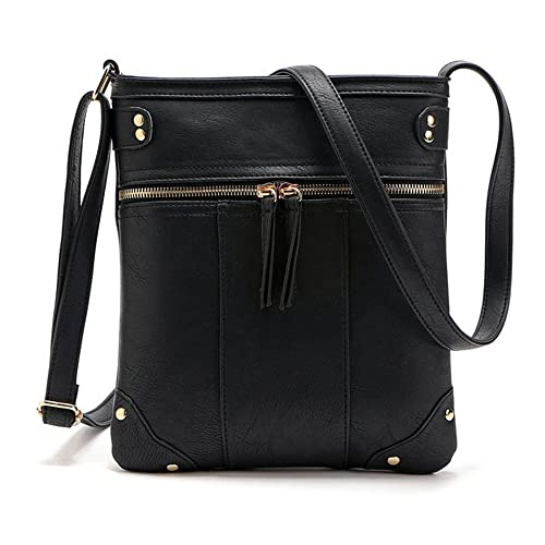 Duketea Small Crossbody Purse for Women, Faux Leather Crossover Shoulder Bag  for Teen Girls 2a7db35759