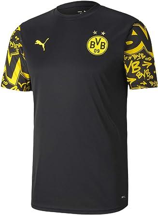 Amazon.com : PUMA Men's Borussia Dortmund Stadium Jersey : Sports ...