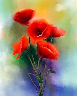 7Dots Art. Flowers. Watercolor Art Print, Poster 8