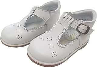 White T Strap Easter Baby Toddler Girl Shoe 3-10.5