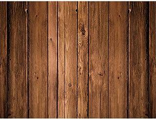 Demiawaking Fotografie Hintergrund mit Holz Effekt, Hintergrund für Fotoaufnahmen aus Vinyl