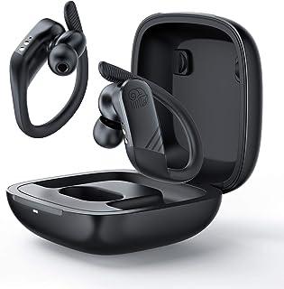 Audífonos Bluetooth 5.0 Auriculares inalámbricos con micrófono Estéreo Sonidos de alta IPX7 Estuche de carga portátil a prueba de agua cancelación de ruido Auriculares para iOS Android Windows