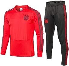 WigColtd Sportbekleidung Langärmliger Fußballtrainingsanzug Für Erwachsene, Sportanzug-Trikot