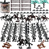 124 PCS Medieval Knights Toys Figurines for...