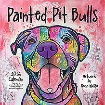 Painted Pit Bulls 2016 Calendar