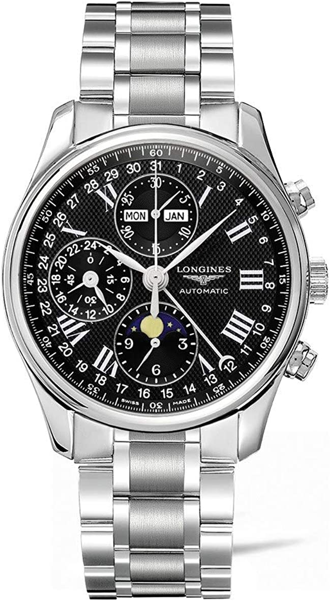 Longines Master Collection Chronograph L26734516 Sales OFFicial Watch Mens