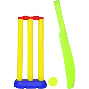 Deal Bindaas Nippon Baby Cricket Set for Kids (1-3 Years, Red, Yellow)