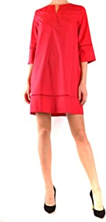 TWIN-SET Luxury Fashion Womens MCBI38586 Red Dress | Season Outlet