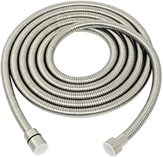 Extra Long Shower Hose,138-Inch SUS 304 Stainless Steel Handheld Showerhead Hose Extender,Bathroom Tube Sprayer Replacement Extension hose,Bushed Nickel,A3107N-3.5,PHASAT