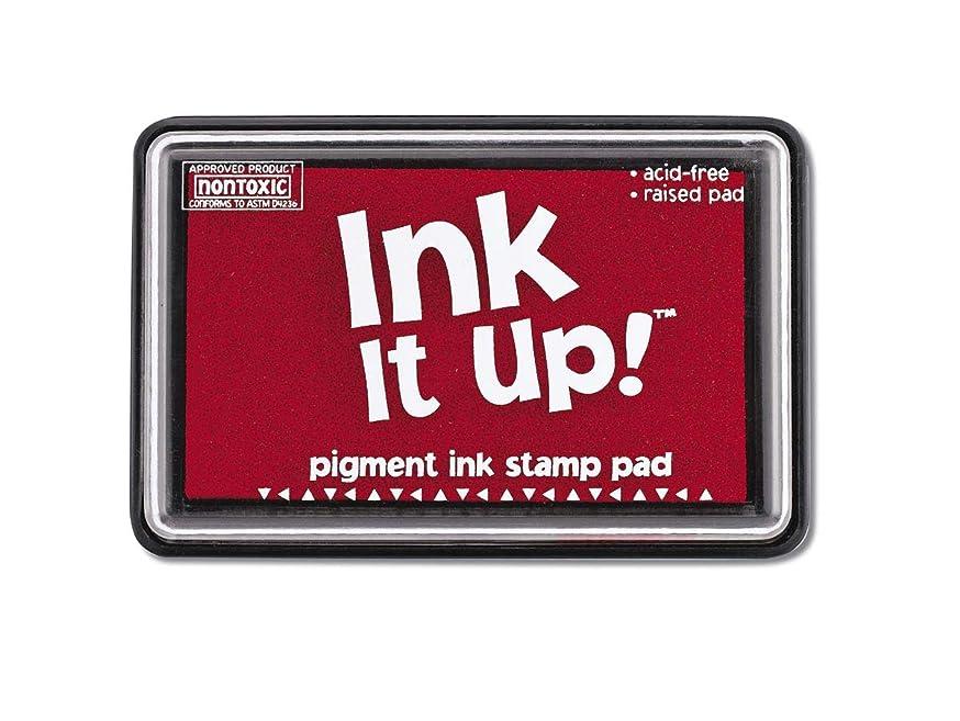 Darice Pigment Ink Stamp Pad - True Red