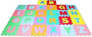 comprar comparacion Lalaloom LEARNMAT - Alfombra infantil con letras para juego (alfombra puzzle para bebe con suelo de espuma EVA para habita...