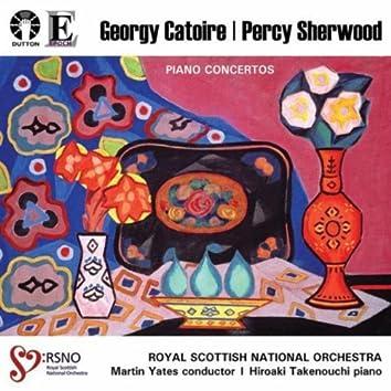 Georgy Catoire & Percy Sherwood: Piano Concertos