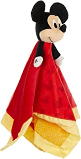 (Mickey Mouse) - Disney Baby Mickey Mouse Plush Stuffed Animal Snuggler Blanket - Red