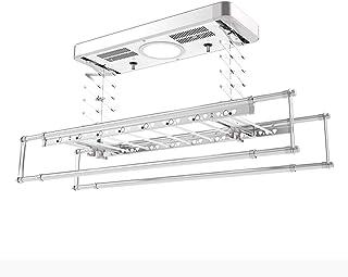 Support de séchage de plafond de corde à linge à télécommande intelligente pour petit espace, séchoir à linge rétractable ...