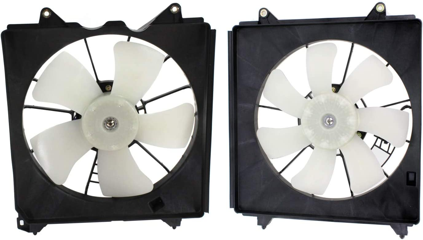 Veizn Cooling New Shipping Free Shipping Radiator Fan Assembly For 5 popular Conjunto Left Right And