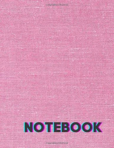 Notebook: Babe Pink Composition Notebook - Large 8.5 x 11 - College Ruled 110 Pages