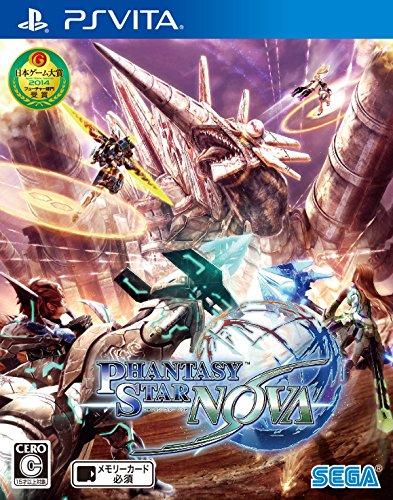 sega ps vita games Phantasy Star Nova