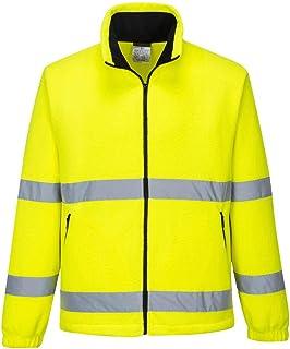 Amazon.es: Amarillo - Chaquetas y abrigos / Ropa de trabajo y de seguridad: Ropa