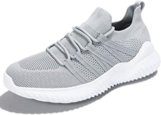 Womens Walking Shoes - Slip on Mesh Upper Memory Foam Casual Tennis Athletic Travel Work Sneakers