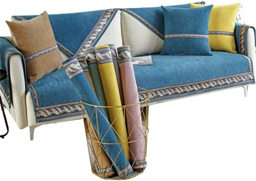 Chenille Wide-Sided Webbing Slipcover Furniture trend rank NEW before selling Shap Protector L