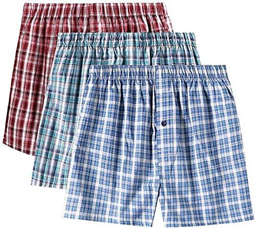 Herren-Shorts, Bambus-Unterhose, Unterwäsche, Shorts für Männer, atmungsaktiv,...