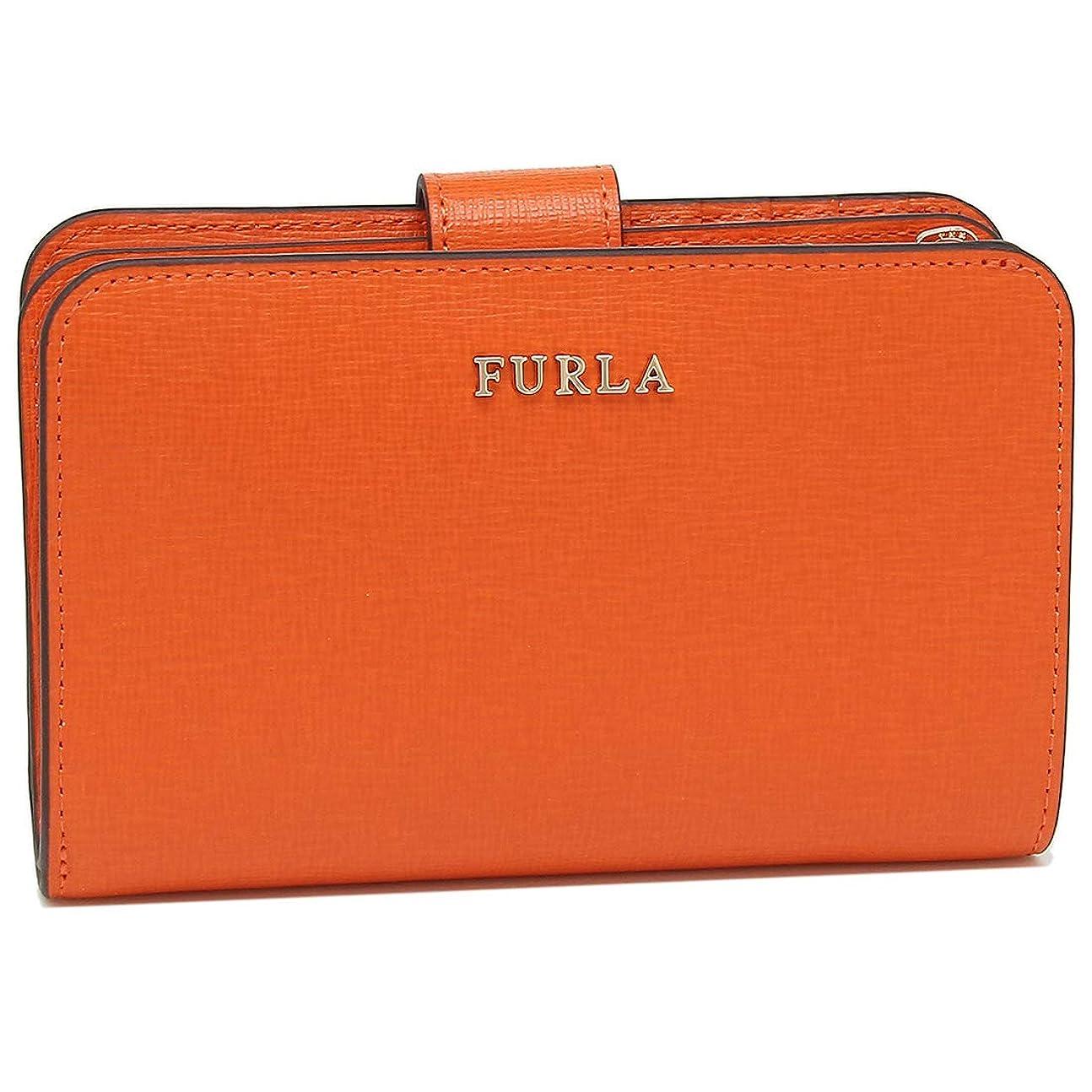 学習ガイドスクランブル[フルラ]折財布 レディース FURLA 1006815 PR85 B30 LS4 オレンジ [並行輸入品]