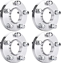 PUENGSI Wheel Spacer 5x120 to 5x120mm 72.56mm 2X 15mm & 2X 20mm 4PCS Hubcentric Wheel Spacers Staggered Kit Fits for 325i 325xi 328i 328xI 330i 12x1.5Lug Bolts