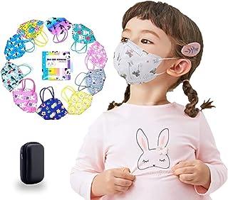 Cubrebocas KN95 para niñas Certificados empacados en Bolsa Individual, Tapabocas KN95 de Varios Diseños y Colores Divertid...