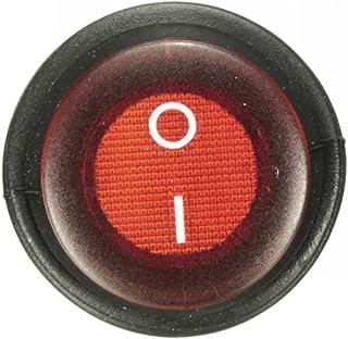 Busirde 5pcs Heavy Duty Interrupteur /à Bascule Housse /étanche 12V on//Off Voiture Dash Lumi/ère 12 Volt SPST m/étal Commutateur Set Noir 29 19mm 15.8