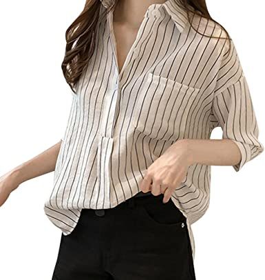 Camisa Casual Manga Corta Mujer, Covermason Blusa líder de ...