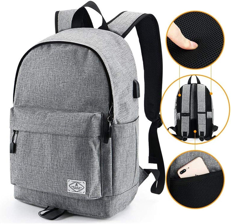 HENGTONGTONGXUN Rucksack Herren Umhngetasche, Modetrend Studententasche, einfache lssige Reisetasche mit groer Kapazitt Hohe Qualitt