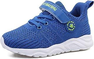 Youecci-Bebé Primeros Pasos Zapatos Niños Niñas Suave Suela Antideslizante Zapatos Niño Pequeño Malla Transpirable Ligero ...